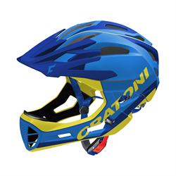 Шлем CRATONI C-MANIAC FULL FACE Limited Edition сине-желтый - фото 5426