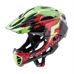 Шлем CRATONI C-MANIAC FULL FACE PRO red-black-green glossy - фото 6434