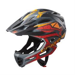 Шлем CRATONI C-MANIAC PRO Black-Red-Orange - фото 6490