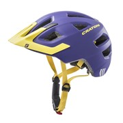 Шлем CRATONI MAXSTER PRO purple-yellow