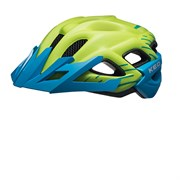 Шлем KED Status Junior Green Blue