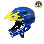 Шлем CRATONI C-MANIAC FULL FACE blue-yellow glossy
