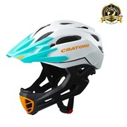 Шлем CRATONI C-MANIAC FULL FACE white-black-ot matt