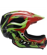 Шлем JetCat Raptor SE red/black/green